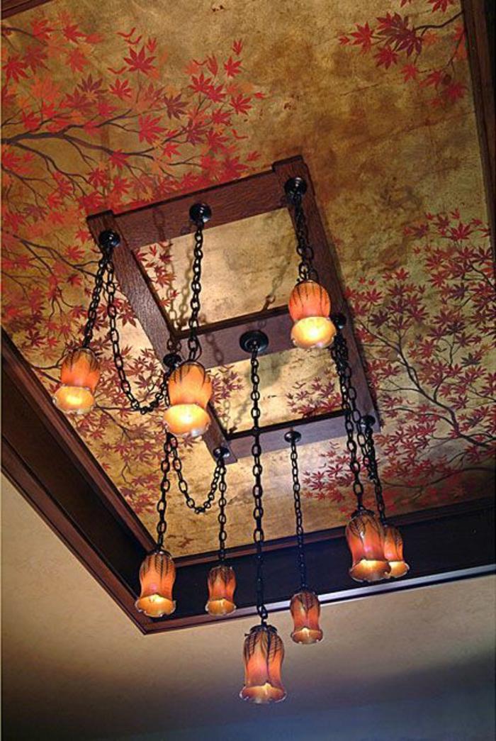 Schlafzimmer Orientalischen Stil: Deckenbeleuchtung fur ...
