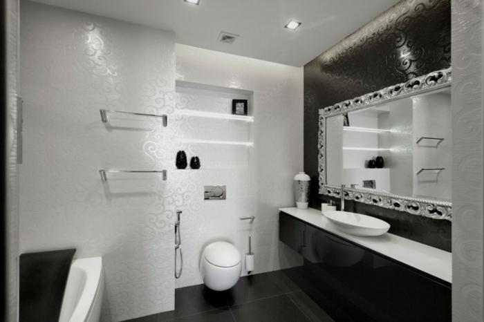 deckenleuchten-badezimmer-in-schwarz-und-weiß-gestalten
