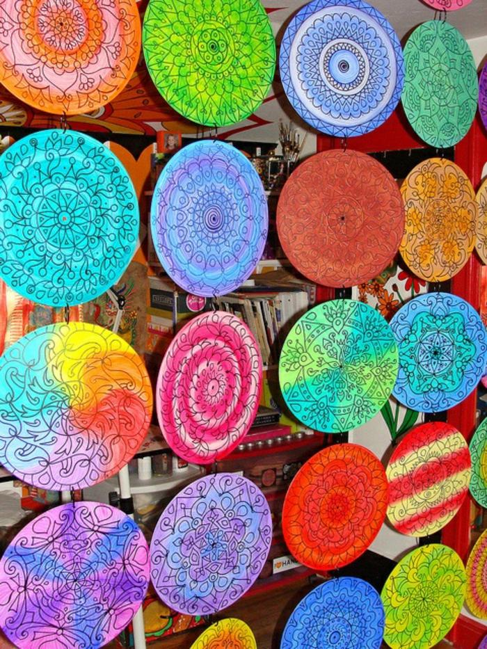 deko-mit-schallplatten-super-schöne-bunte-farben