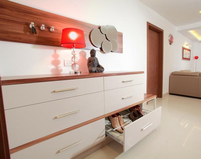 designer schuhregal 21 originelle modelle. Black Bedroom Furniture Sets. Home Design Ideas