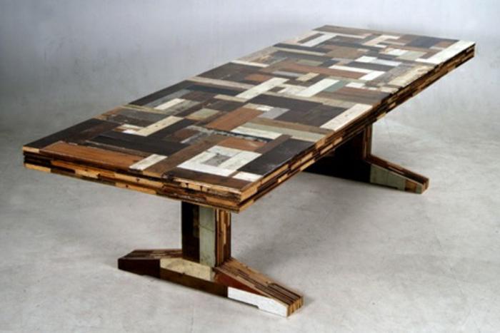 27 interessante ideen f r diy tisch for Tisch bauen design