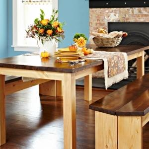 27 interessante Ideen für DIY Tisch!