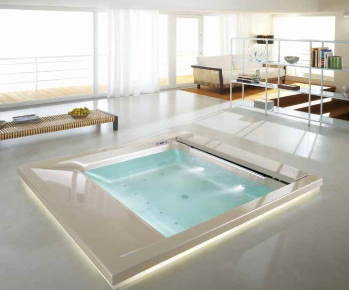 Quadratische Badewanne eingelassene badewanne 41 tolle designs archzine