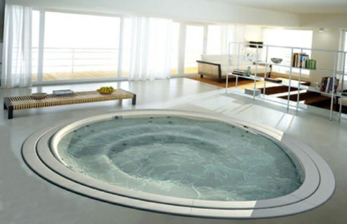 Eingelassene Badewanne: 41 tolle Designs! - Archzine.net