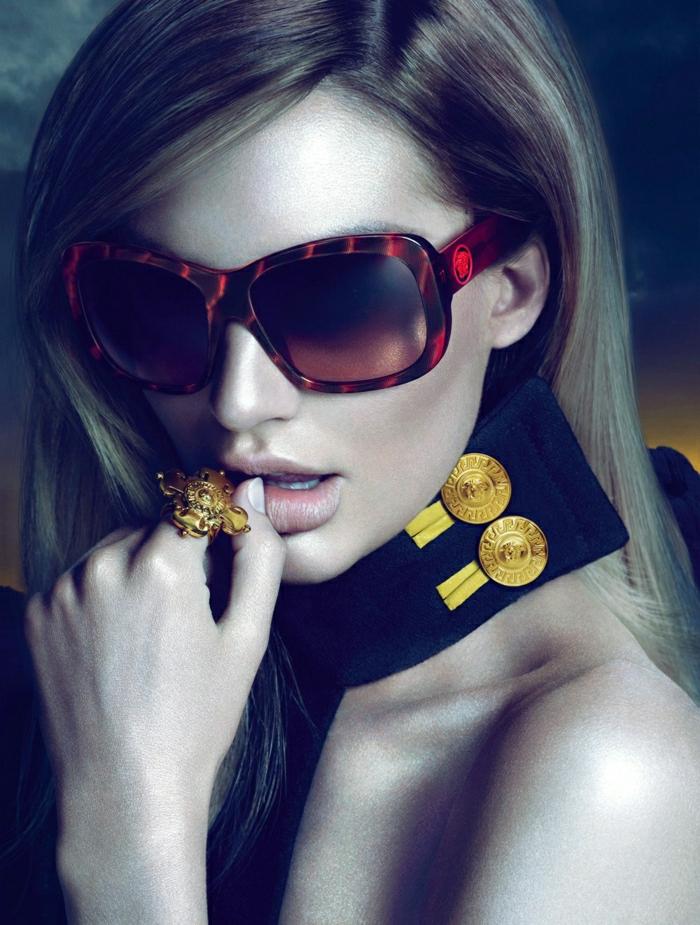 elegante-Versace-Sonnenbrille