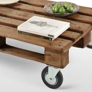 Tisch aus Paletten - 33 wunderbare Ideen!