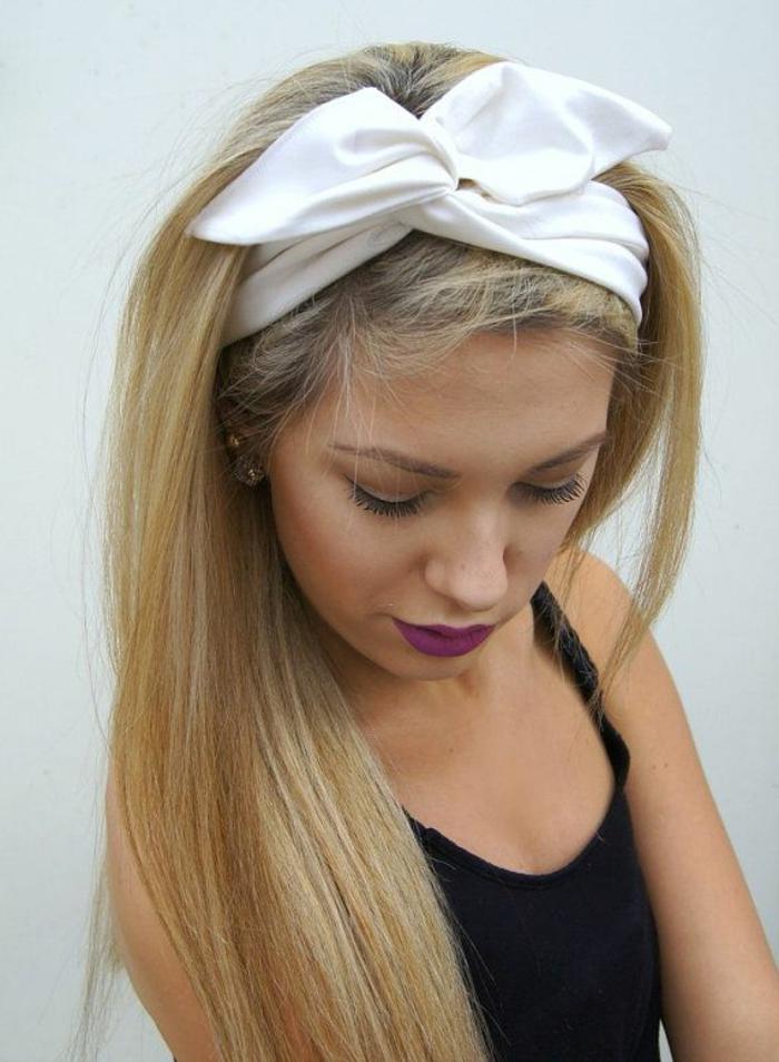 frisuren-mit-haarband-wunderschönes-mädchen