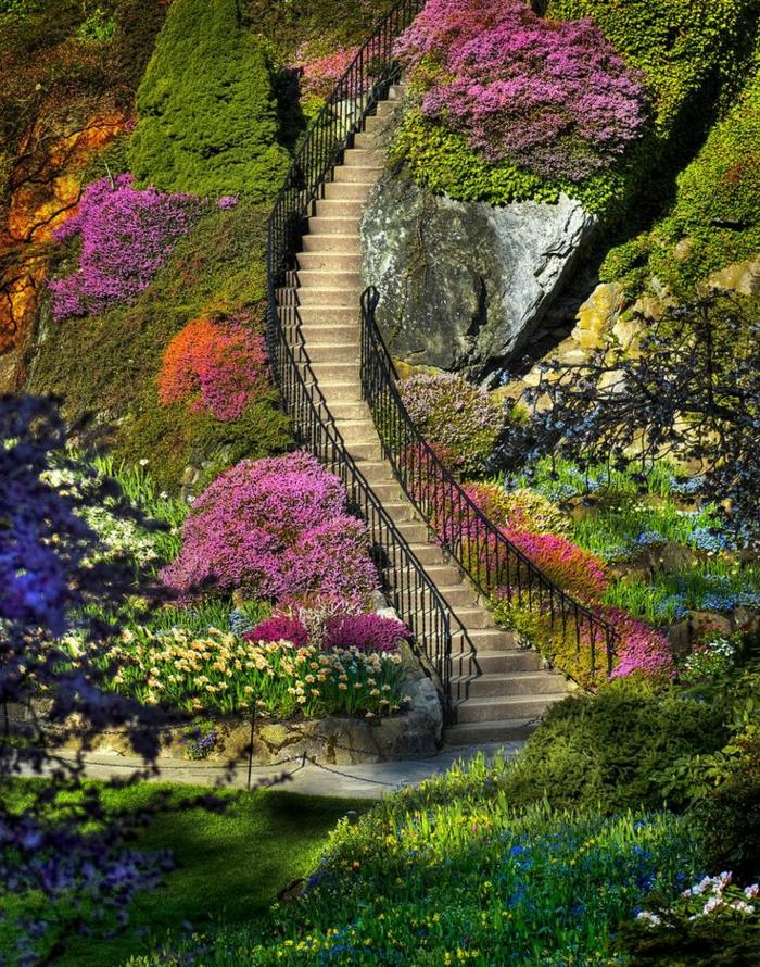 garten-verschönern-eine-sehr-große-treppe