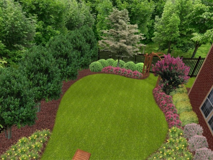 landscaping ideas backyard, garden, backyard