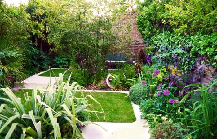 garten-verschönern-sehr-viele-grüne-pflanzen