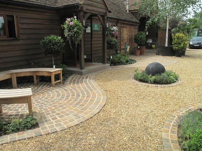 56 Ideen für Gartengestaltung mit Kies! - Archzine.net