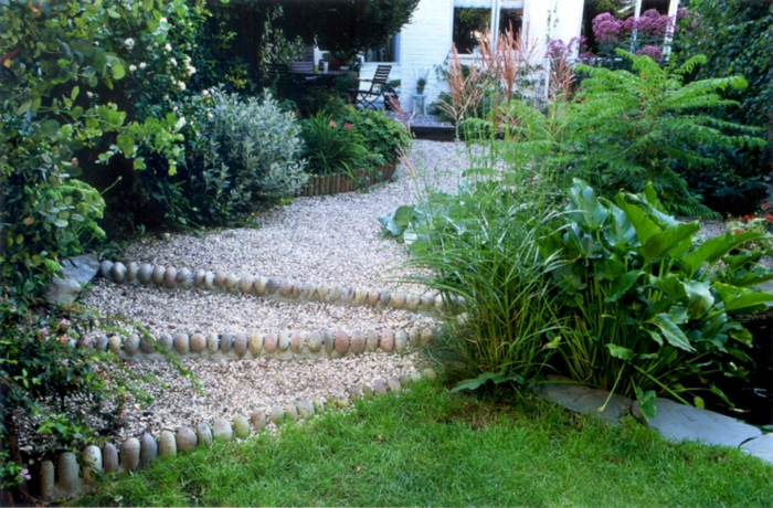 gartengestaltung mit kies grne herrliche ausstattung - Gartengestaltung Mit Kies
