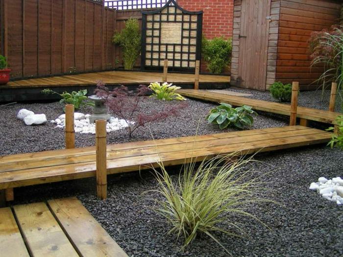 gartengestaltung mit kies super grne interessante pflanzen - Gartengestaltung Mit Kies