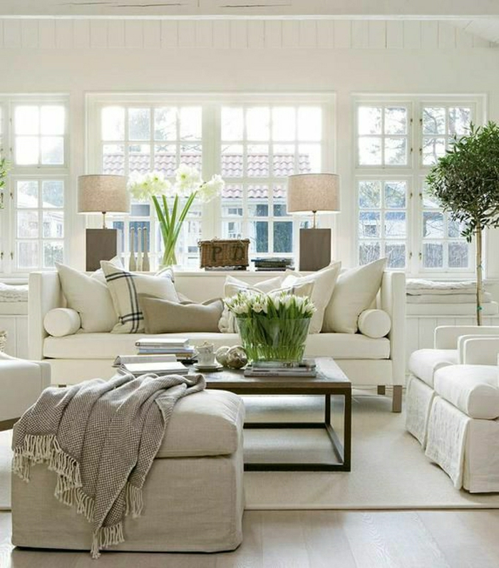 Einrichtungsideen Furs Wohnzimmer In 45 Fotos Archzine Net