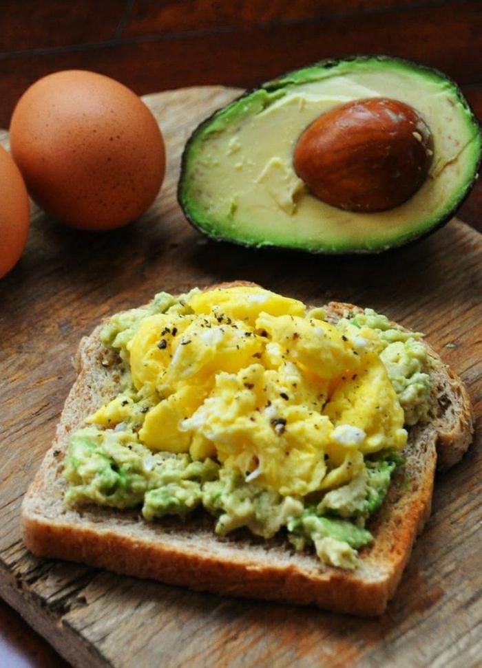gesundes-Frühstück-Toast-Avocado-Eier