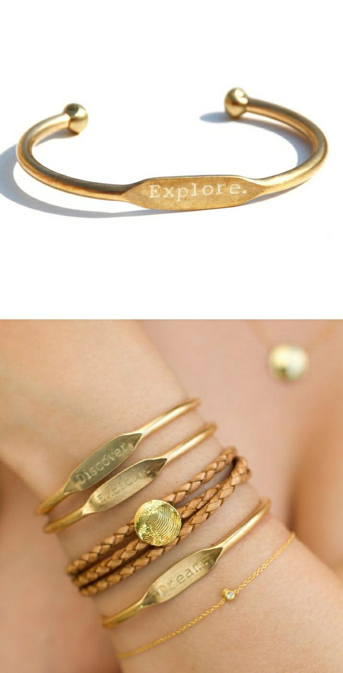goldene-Armbänder-mit-Gravur