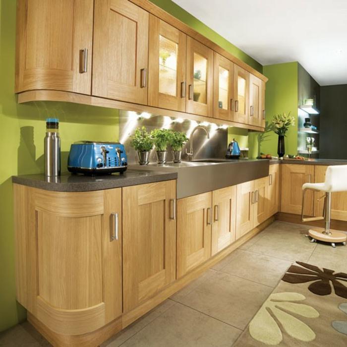 72 Gute Interieur-Ideen: Grüne Wandfarbe