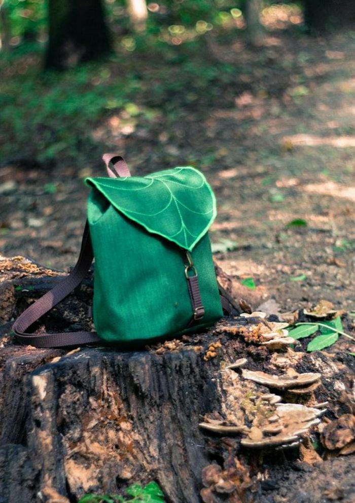 grüner-Rucksack-Ausflug-Reiserucksack-Damen