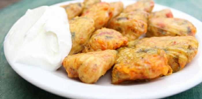 griechische-Speisen-Kolokythoanthoi-schmackhaft