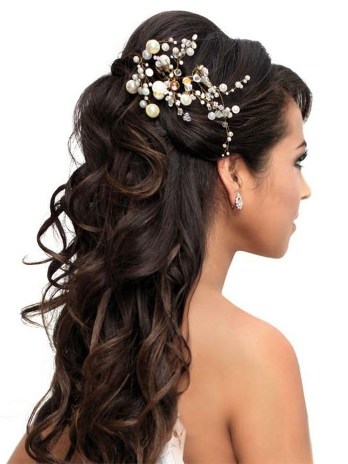Updo hairstyles black people black updo hairstyles for prom black hair - 44 Sch 246 Ne Hochzeitsfrisuren F 252 R Lange Haare Archzine Net