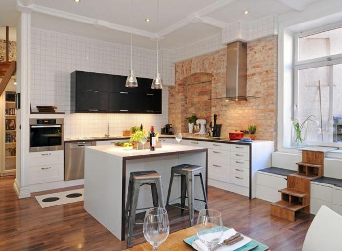 küche-mit-kochinsel-attraktives-aussehen