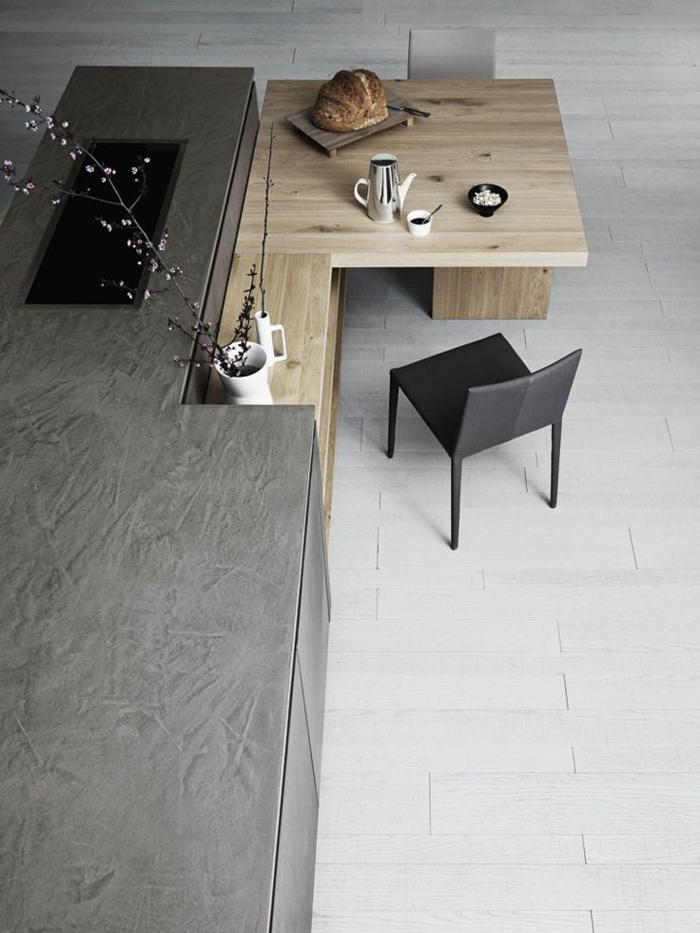 Kuche Mit Kochinsel Und Tisch Digrit For Inside Küche Esstische, Wohnzimmer  Design