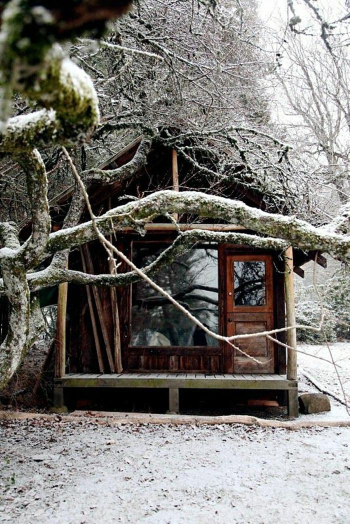 klene-Hütte-Gebirge-Schnee-Winter
