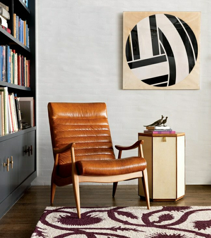 45 fantastische designs f r ledersessel. Black Bedroom Furniture Sets. Home Design Ideas