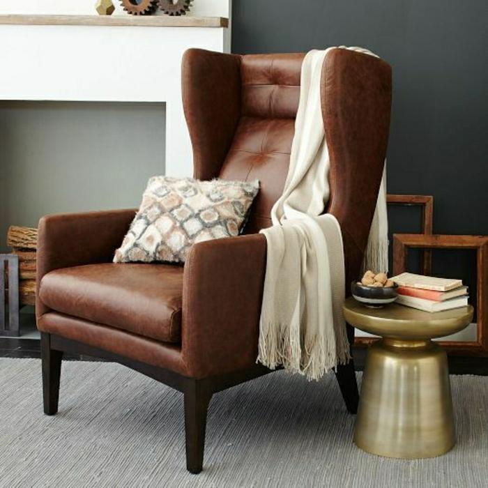 wohnzimmer sessel retro: -lederstuhl-retro-sessel-design-sessel-design-sessel-leder