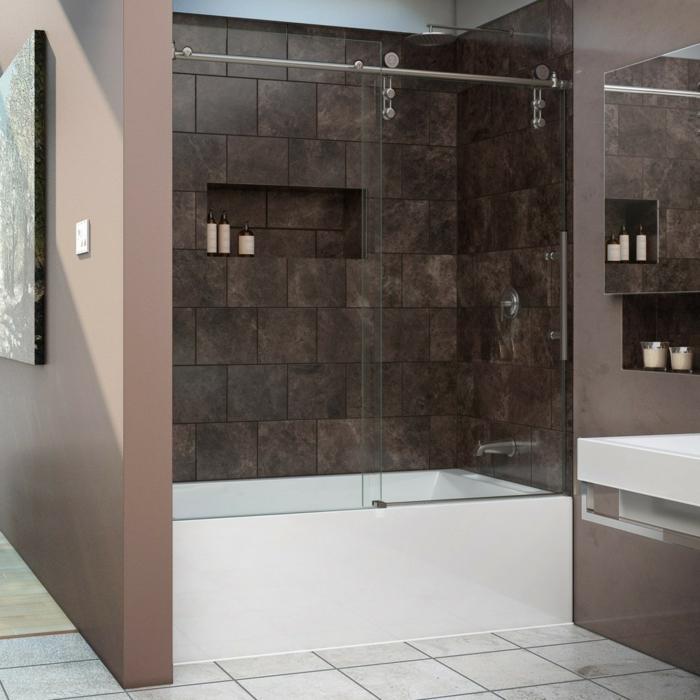 Badewanne mit t r aktuelle vorschl ge for Salle de bain avec douche et baignoire de luxe