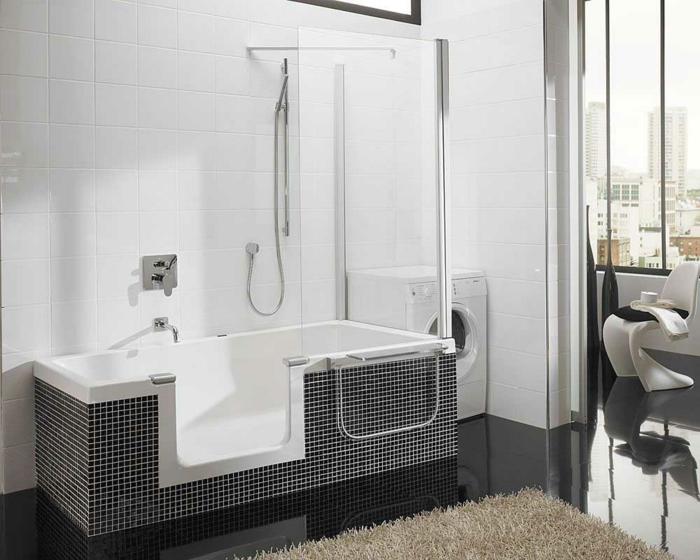Luxus Badewanne Mit Dusche : luxus-badezimmer-design-badezimmer-badewanne-mit-dischzone-luxus