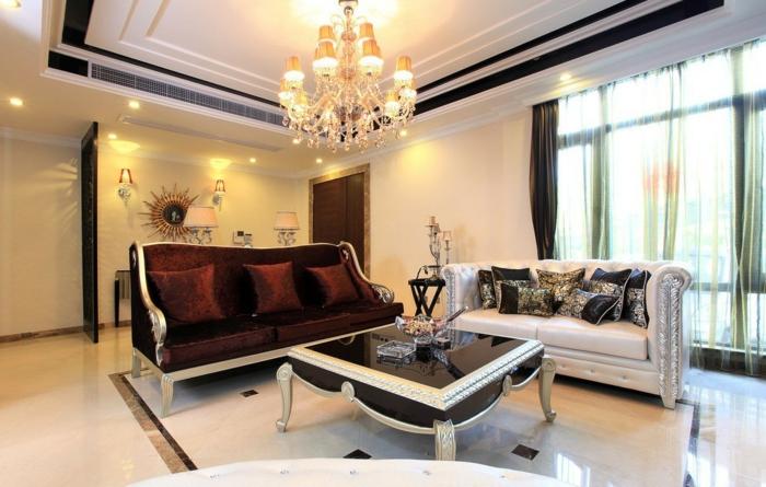 luxus wohnzimmer modern:Luxus Wohnzimmer: 81 verblüffende Interieurs!