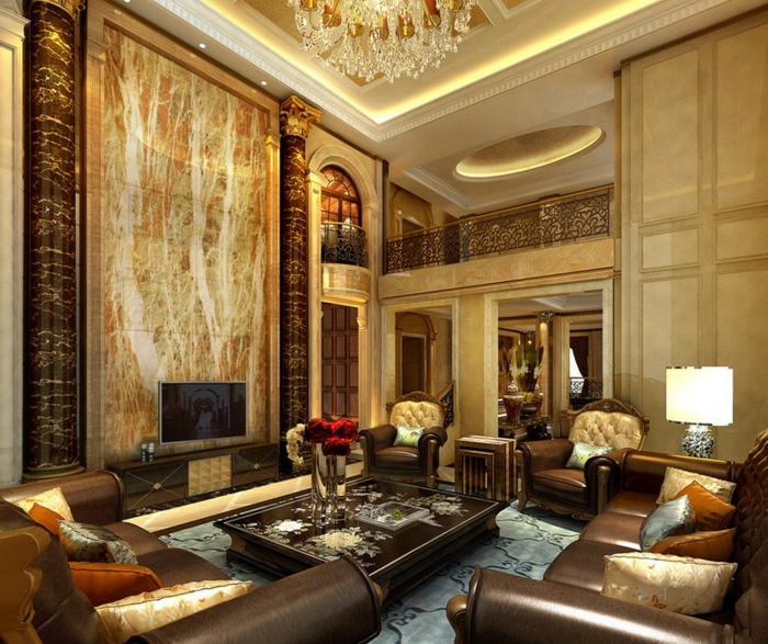 luxus-wohnzimmer-attraktives-aussehen