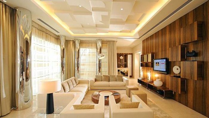 luxus-wohnzimmer-beige-farben-regalsystem