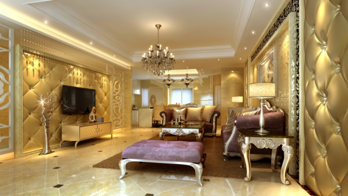 luxus wohnzimmer: 81 verblüffende interieurs! - archzine.net - Luxus