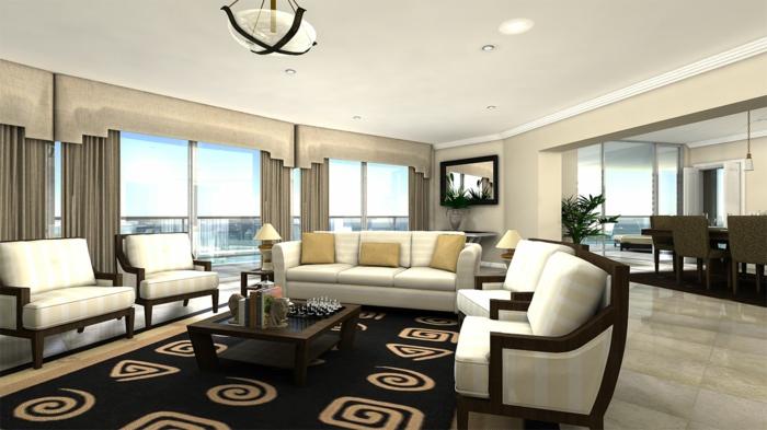 luxus wohnzimmer: 81 verblüffende interieurs! - archzine.net - Wohnzimmer Luxus Design