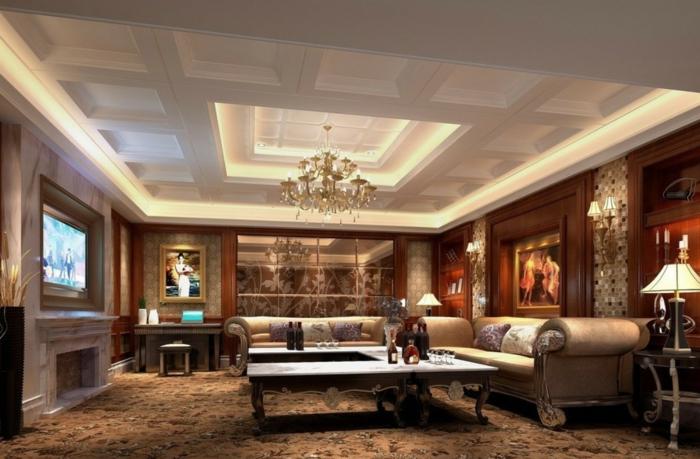 luxus-wohnzimmer-interessante-zimmerdecke