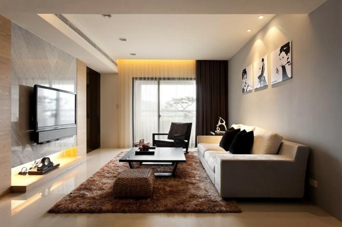 luxus-wohnzimmer-kleine-moderne-gestaltung-fernseher-an-der-wa
