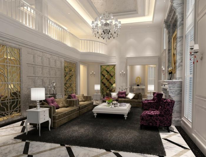 luxus-wohnzimmer-kreative-ausstattung-wunderschönes-aussehen
