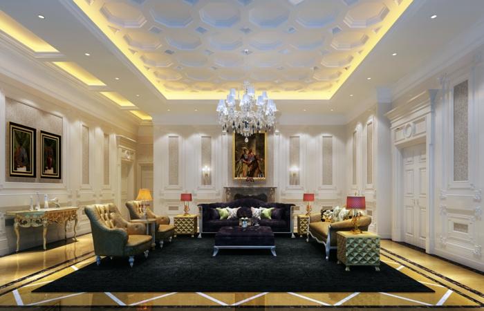 luxus-wohnzimmer-led-beleuchtung-interessante-gestaltung