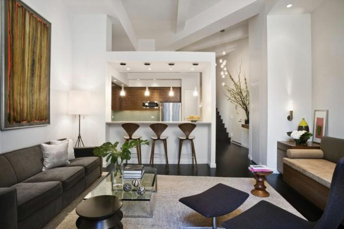 luxus-wohnzimmer-moderne-barhocker