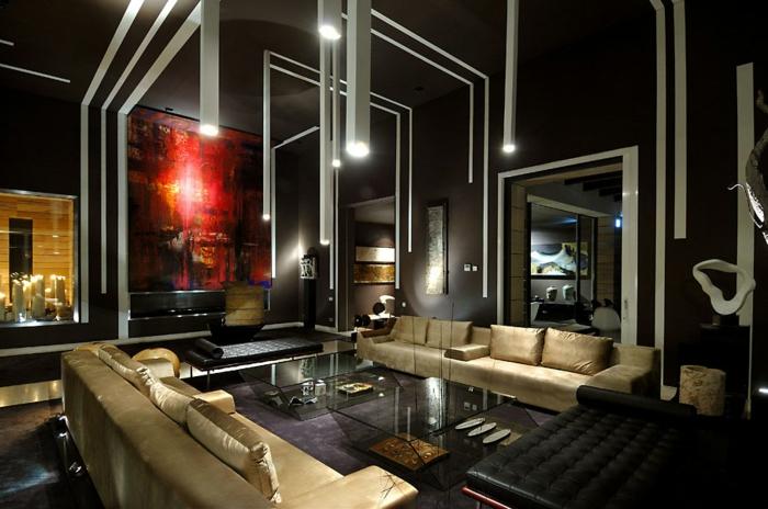luxus-wohnzimmer-schwarzes-schicke-ausstattung