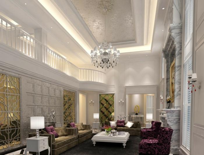 luxus-wohnzimmer-weiße-moderne-interessante-ausstattung