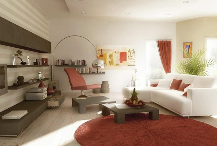 luxus-wohnzimmer-weiße-wände-moderne-lampe