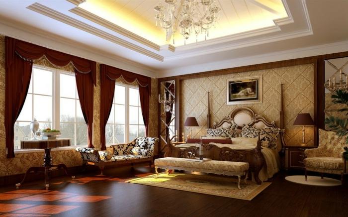 luxus-wohnzimmer-wunderschöne-gardinen- led-beleuchtung