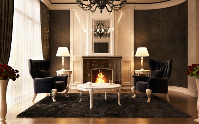 luxus wohnzimmer modern mit kamin brimobcom for - Luxus Wohnzimmer Modern Mit Kamin