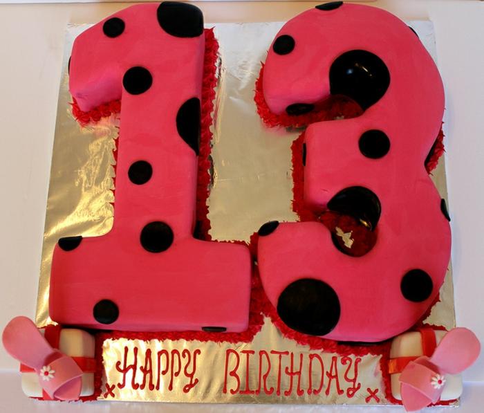 mädchen-torte-dreizehn-jahre