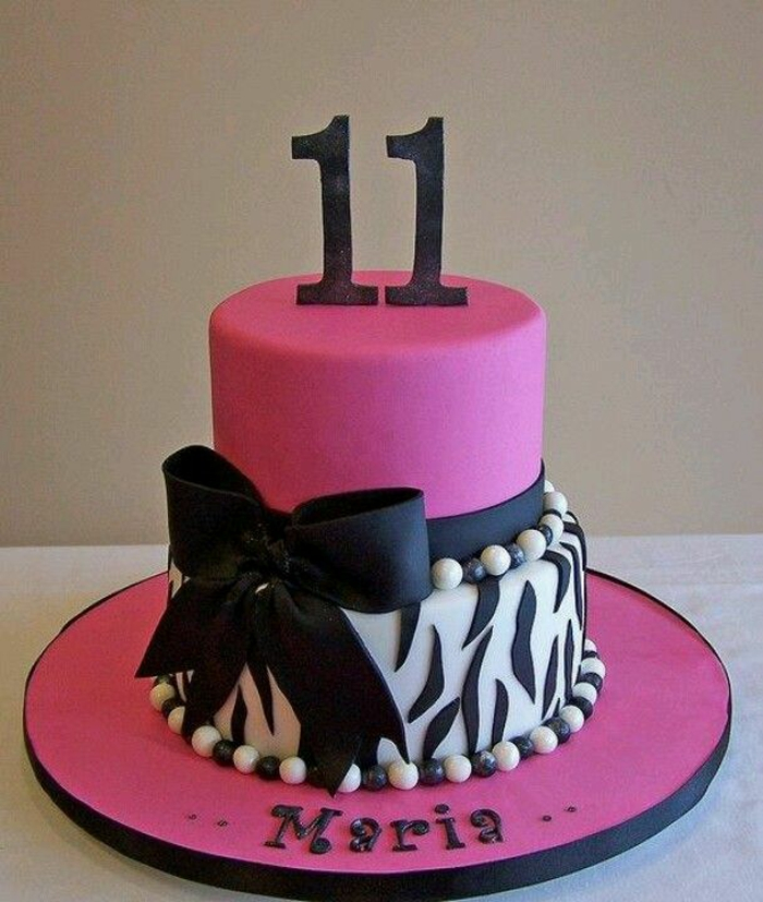 mädchen-torte-rosiges-modell