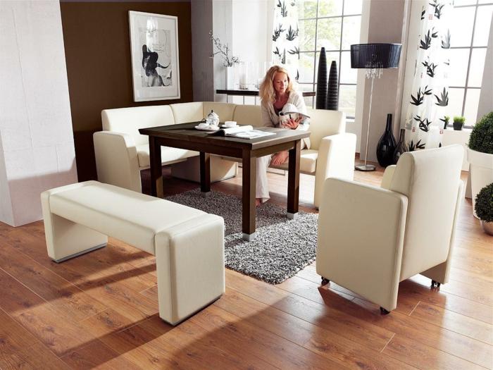 moderne-essecken-weiße-möbel