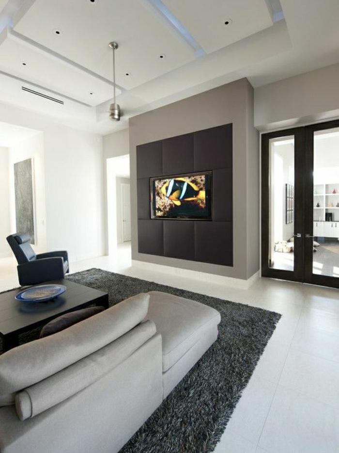 wohnzimmer tv wand ideen:-wohnzimmer-gestalten-wohnzimmer-einrichten-wandpaneele-tv-wand